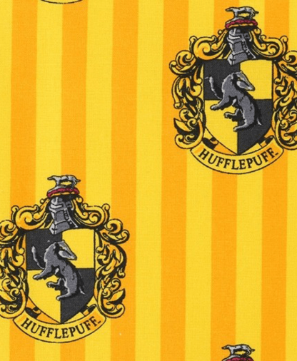 The Craft Cotton Co - Harry Potter Fabric - Hufflepuff
