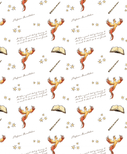 The Craft Cotton Co - Harry Potter Fabric - Dumbledore