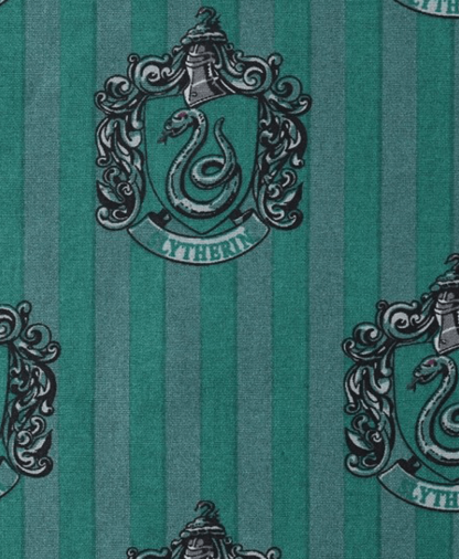 The Craft Cotton Co - Harry Potter Fabric - Slytherin