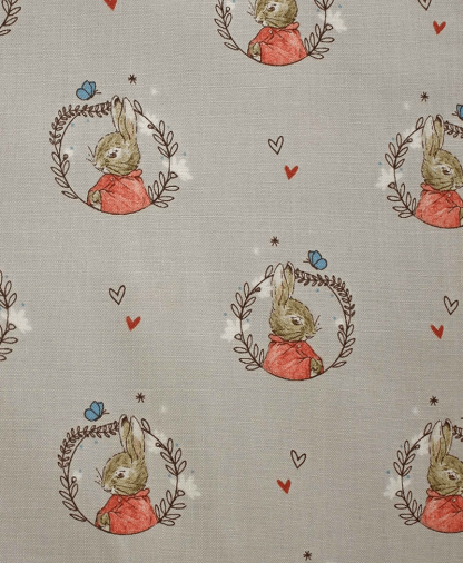Craft Cotton Co - Peter Rabbit - Flopsy Grey (2306-05)