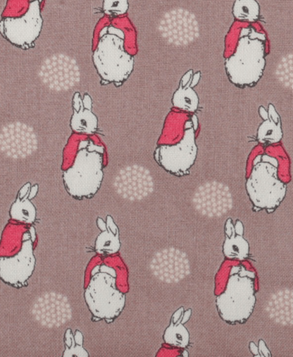 Craft Cotton Co - Peter Rabbit - Flopsy and Mopsy - Dark Grey (2247-05)