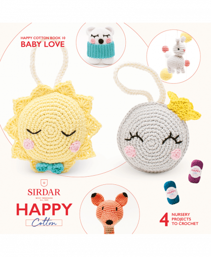 Sirdar Happy Cotton - Book 10 - Baby Love (BK539)