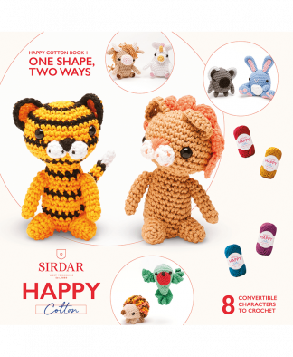 Sirdar Happy Cotton - Book 1 - One Shape, Two Ways (BK530)