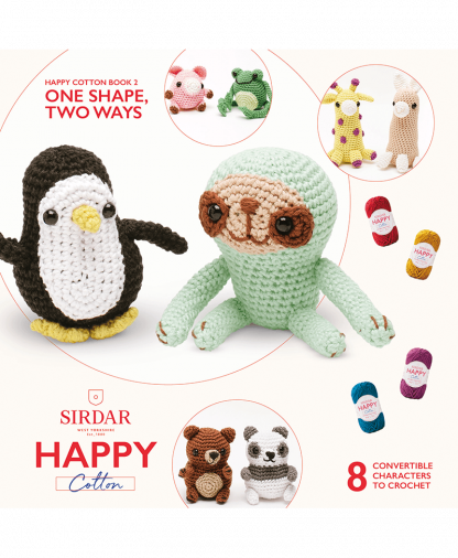 Sirdar Happy Cotton - Book 2 - One Shape, Two Ways (BK531)