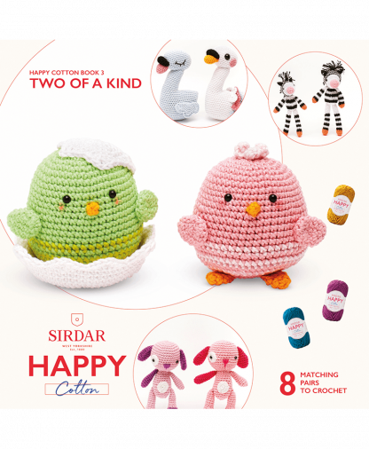 Sirdar Happy Cotton - Book 3 - Two Of A Kind (BK532)