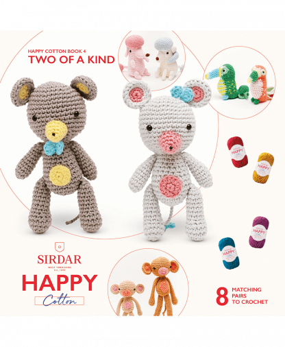 Sirdar Happy Cotton - Book 4 - Two Of A Kind (BK533)