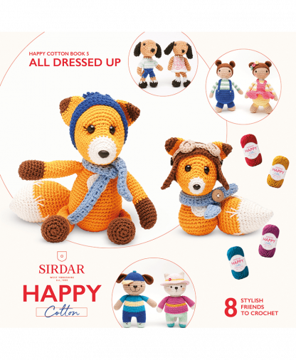 Sirdar Happy Cotton - Book 5 - All Dressed Up (BK534)