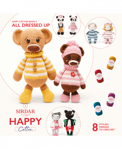 Sirdar Happy Cotton - Book 6 - All Dressed Up (BK535)