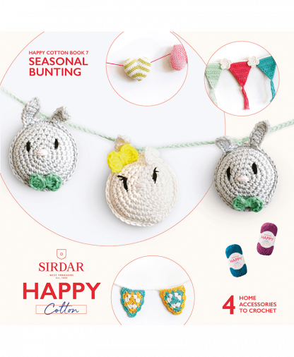 Sirdar Happy Cotton - Book 7 - Seasonal Bunting (BK536)
