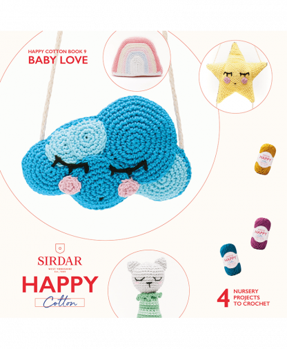 Sirdar Happy Cotton - Book 9 - Baby Love (BK538)