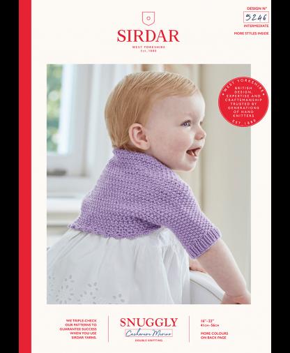 Sirdar - Snuggly Cashmere Merino Pattern - Bolero (5246)
