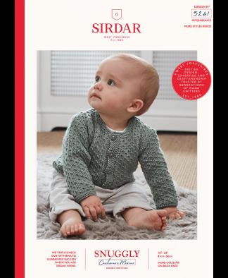 Sirdar - Snuggly Cashmere Merino Pattern - Cardigan (5241)