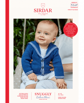 Sirdar - Snuggly Cashmere Merino Pattern - Cardigan (5247)