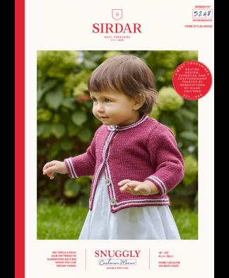 Sirdar - Snuggly Cashmere Merino Pattern - Cardigan (5248)