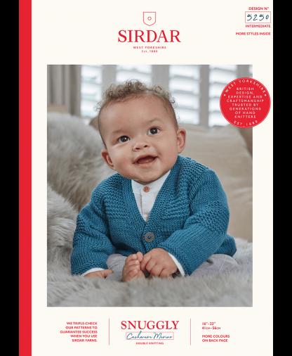 Sirdar - Snuggly Cashmere Merino Pattern - Cardigan (5250)