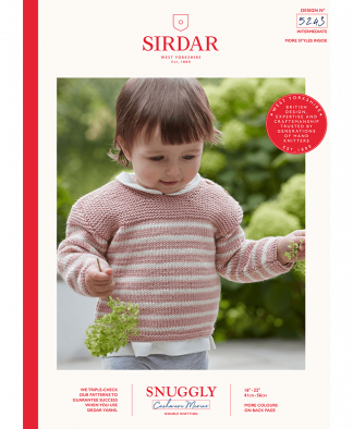 Sirdar - Snuggly Cashmere Merino Pattern - Jumper (5243)