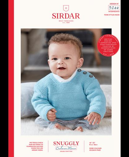 Sirdar - Snuggly Cashmere Merino Pattern - Jumper (5244)