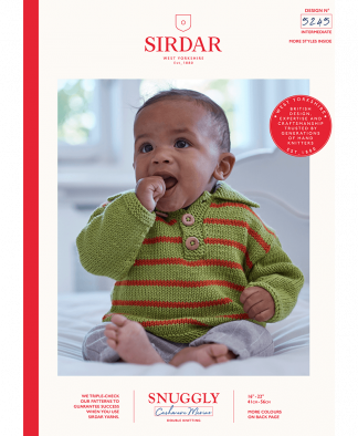 Sirdar - Snuggly Cashmere Merino Pattern - Sweater (5245)
