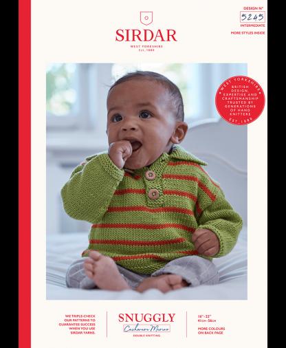 Sirdar - Snuggly Cashmere Merino Pattern - Sweater (5245)