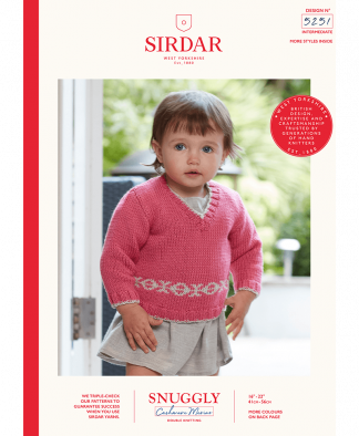 Sirdar - Snuggly Cashmere Merino Pattern- Tank Top and Sweater (5251)