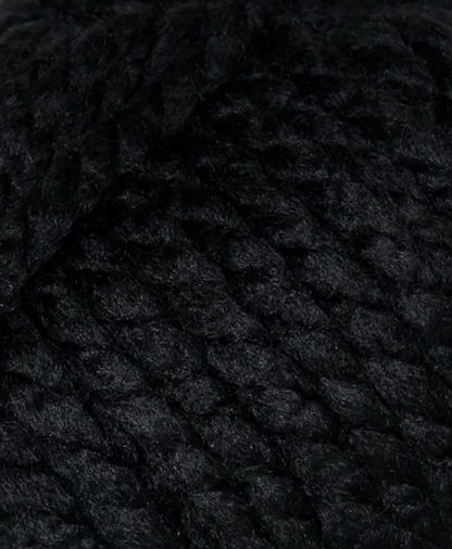 Cygnet Seriously Chunky - Black (217) - 100g