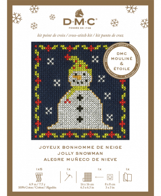 DMC Christmas Mini Cross Stitch Kit