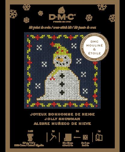 DMC Christmas Mini Cross Stitch Kit