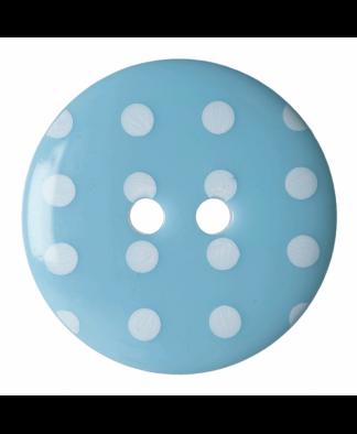 Hemline Spot Button - Size 36 Blue (203606)