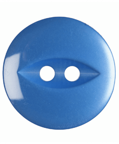 Round Fisheye Button - 26 Lignes (16mm) - Royal Blue (G033926_90)