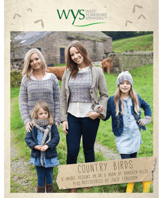 West Yorkshire Spinners - Country Birds Pattern Book