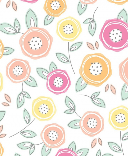 The Craft Cotton Co - Sunshine Cotton - Roses (2505-03)