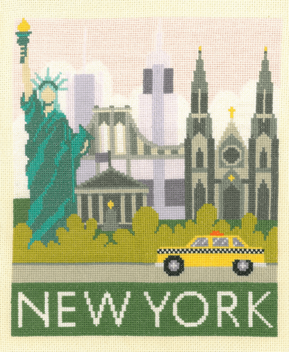 My Cross Stitch - Cityscapes - New York (DJCS02)