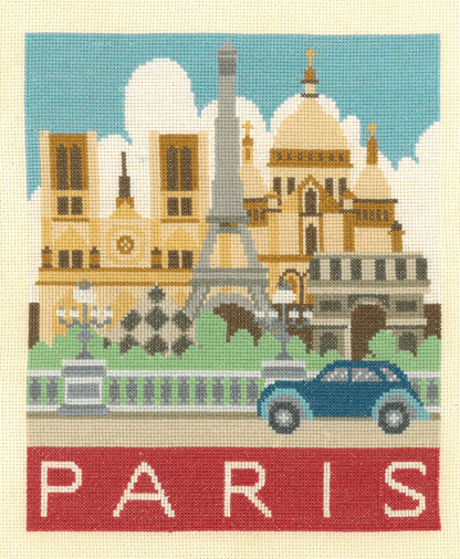 My Cross Stitch - Cityscapes - Paris (DJCS03)