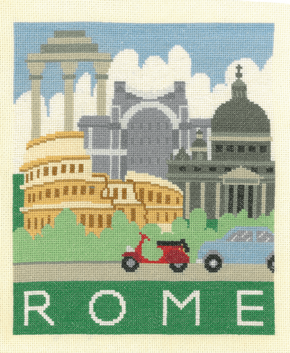 My Cross Stitch - Cityscapes - Rome (DJCS04)