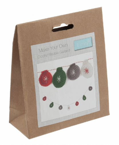 Trimits Bauble Garland Crochet Kit (GCK028)