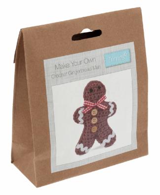 Trimits Gingerbread Man Crochet Kit (GCK029)