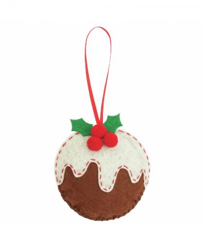 Trimits - Make Your Own Felt Decoration Kit - Christmas Pudding (GCK025)
