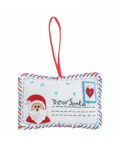 Trimits - Make Your Own Felt Decoration Kit - Letter to Santa (GCK026)
