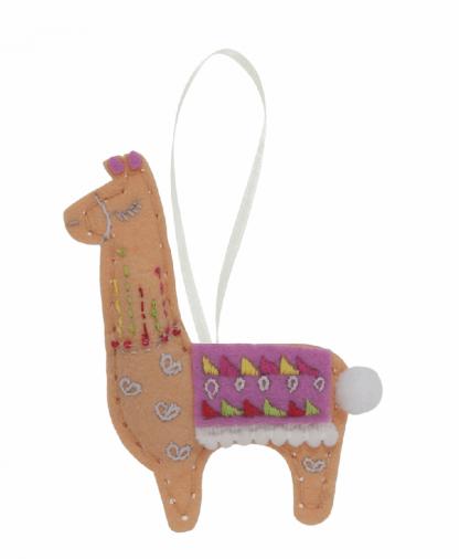 Trimits Make Your Own Felt Decoration Kit - Llama (GCK042)