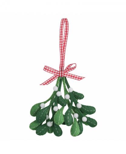 Trimits - Make Your Own Felt Decoration Kit - Mistletoe (GCK074)