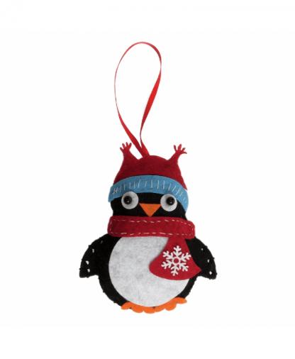 Trimits - Make Your Own Felt Decoration Kit - Penguin (GCK004)