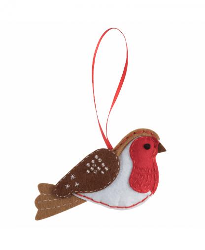 Trimits - Make Your Own Felt Decoration Kit - Robin (GCK076)