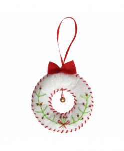 Trimits - Make Your Own Felt Decoration Kit - Wreath (GCK003)