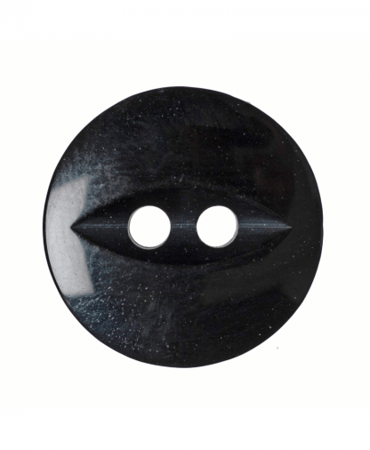 Round Fisheye Button - 22 Lignes (14mm) - Black (G033922_34)