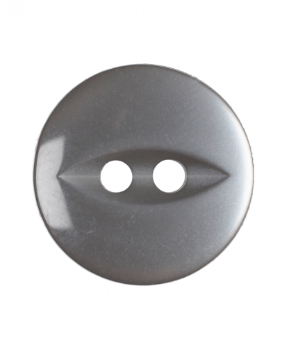 Round Fisheye Button - 22 Lignes (14mm) - Grey (G033922_31)