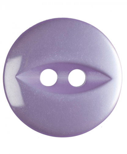 Round Fisheye Button - 22 Lignes (14mm) - Lilac (G033922_11)