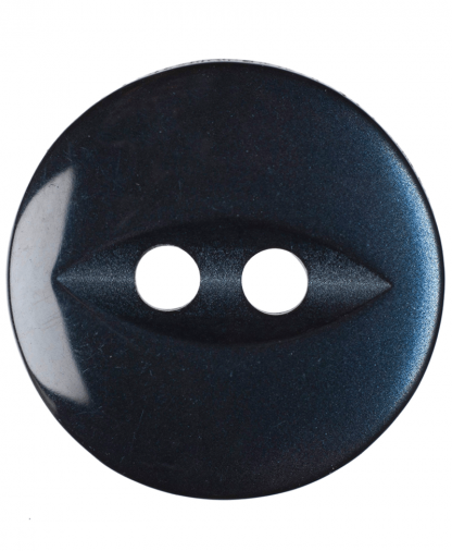 Round Fisheye Button - 22 Lignes (14mm) - Navy (G033922_19)