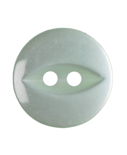 Round Fisheye Button - 22 Lignes (14mm) - Pale Teal (G033922_037)