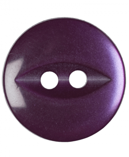 Round Fisheye Button - 22 Lignes (14mm) - Purple (G033922_14)