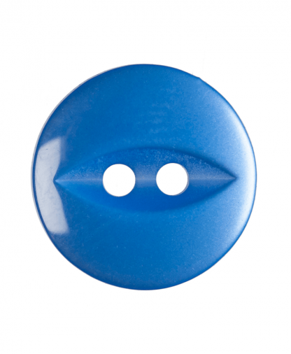 Round Fisheye Button - 22 Lignes (14mm) - Royal Blue (G033922_90)